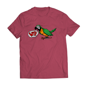 WTF Bird Shirt Vintage Red