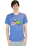WTF Bird Shirt Blue