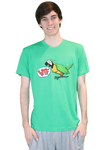 WTF Bird Shirt Green