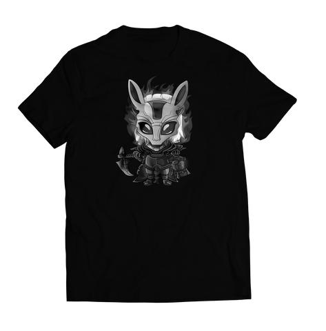 Thresh Chibi T-Shirt Black on Black (Limited Stock)