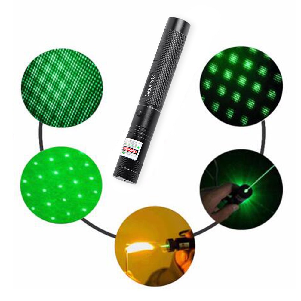 Hobbie Planet - Home; Green Laser Pointer Pen