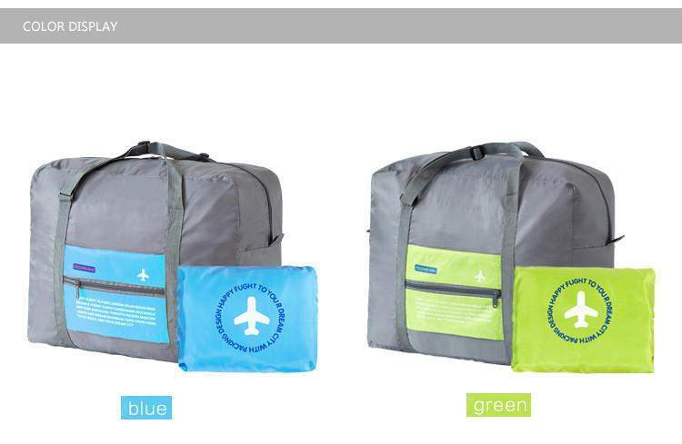Hobbie Planet - Bags; Foldable Travel Bag