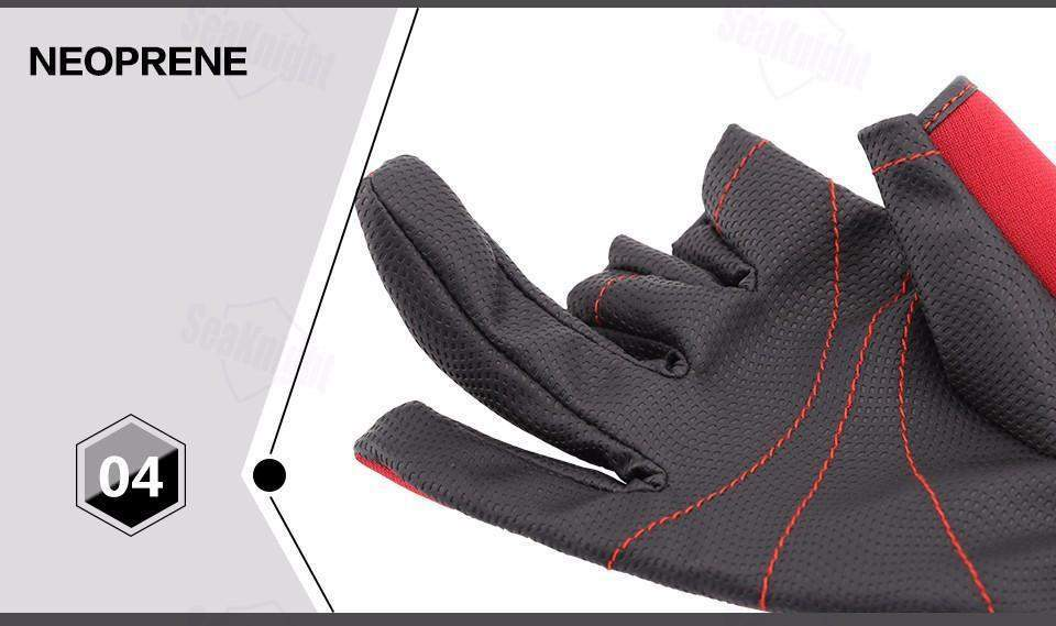 Hobbie Planet - Gloves; Anti Slip Fishing Gloves