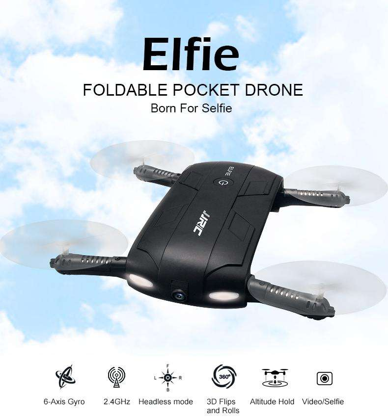 Hobbie Planet - ; Pocket Selfie Drone