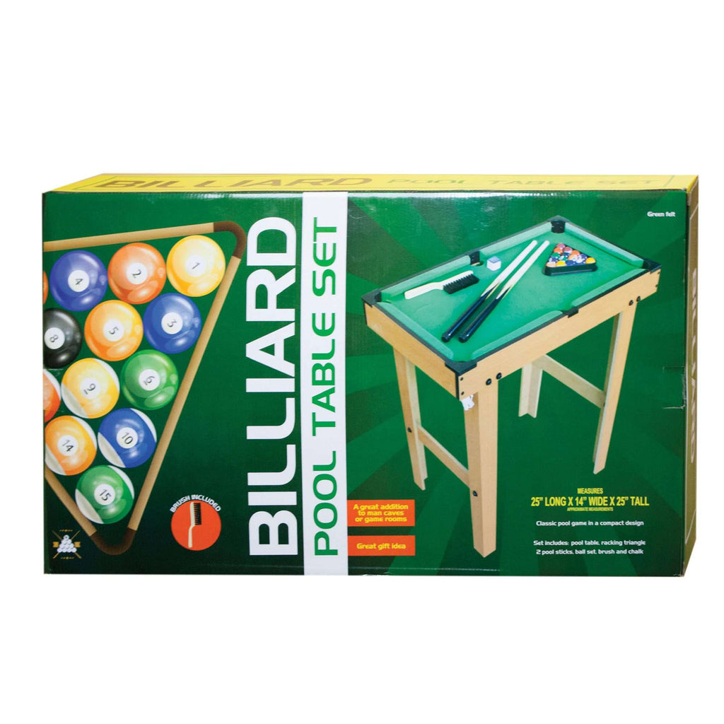 Billiard Pool Table Set Hobbie Planet - How tall is a pool table