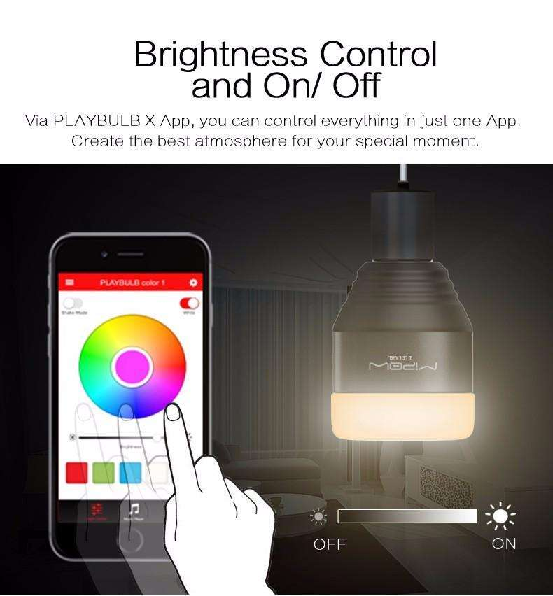 Hobbie Planet - ; Bluetooth Smart LED Light Bulb
