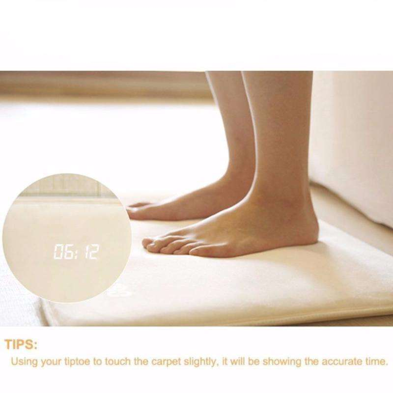 Hobbie Planet - ; Pressure Sensitive Rug Alarm Clock