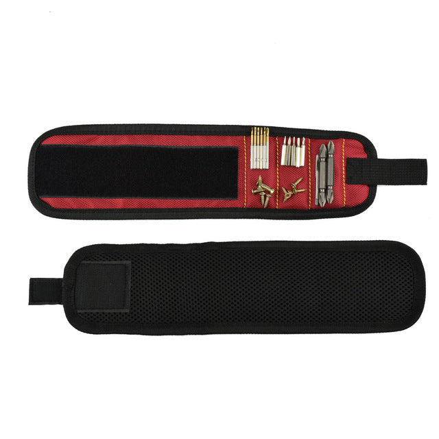 Hobbie Planet - Tool Bag; Magnetic Wristband Tool Electrician