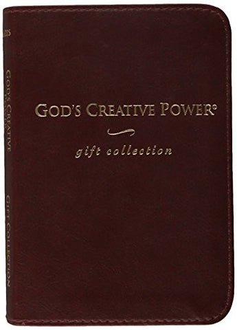God's Creative Power Gift Collection: God's Creative Power Will Work for You, God's Creative Power for Healing, God's Creative Power for Finances [BOX SET] (Leather Bound)
