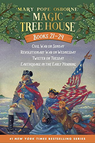 Magic Tree House Volumes 21-24 Boxed Set: American History Quartet