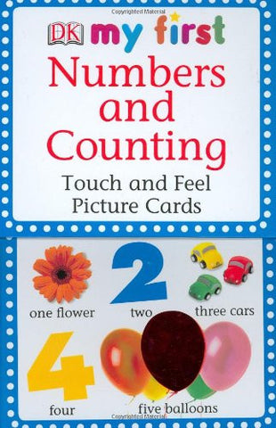 My First Touch and Feel Picture Cards: Numbers and Counting (My 1st T&F Picture Cards)