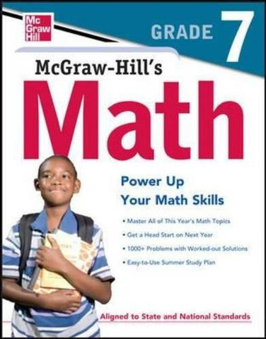 McGraw-Hill's Math, Grade 7 (Test Prep)