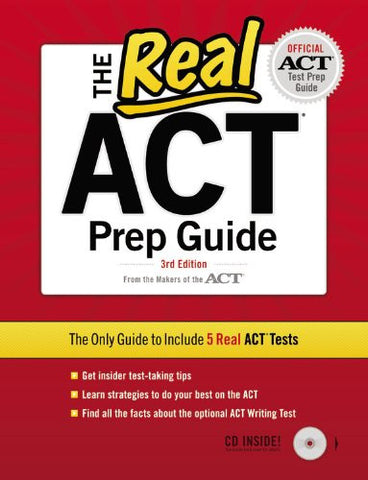 The Real ACT (CD) 3rd Edition (Official Act Prep Guide)