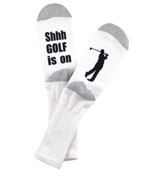 White Golf Socks