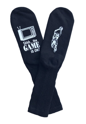 Black Basketball Socks