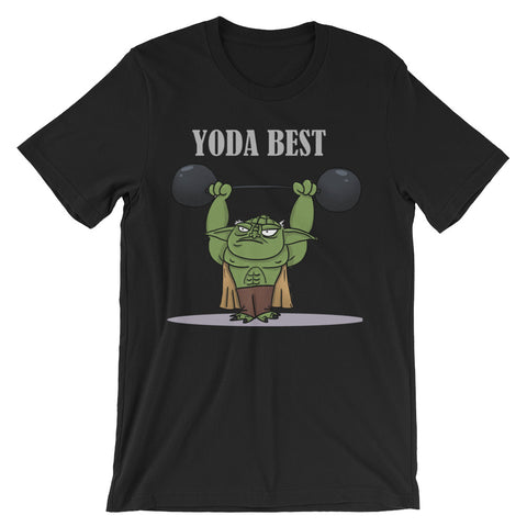 Limited Edition Yoda Best Unisex Short Sleeve T-Shirt