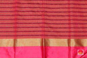 Handwoven Banarasi Silk Cotton Saree - PSC 382
