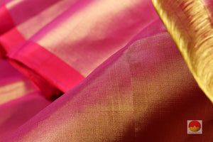 zari body detail of tissue kanjivaram pure silk sari
