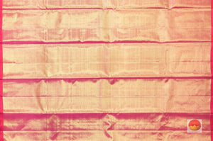 pallu detail of tissue silk kanjivaram saree