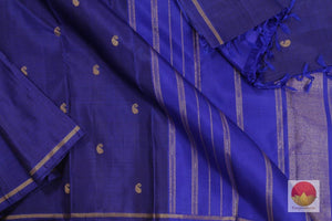 body, border and pallu of kanjivaram saree
