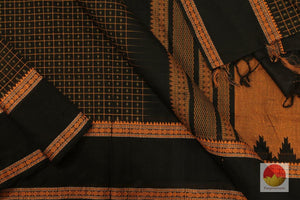 Handwoven Kanchi Silk Cotton Saree - Aiyiram Butta - KSC 286
