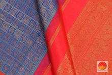 design detail of kanchipuram silk saree