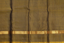 Mustard blouse of kanjivaram pure silk saree