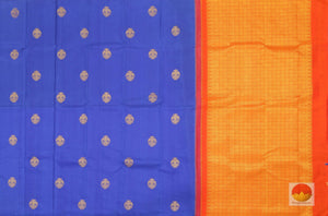 body and pallu detail of kanjivaram pure silk saree