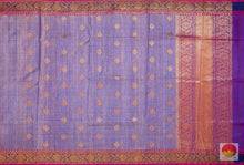 body and pallu of matka silk saree