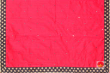 Handwoven Pure Silk Saree - Mirror Work - PV RS 502