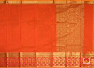 body and pallu of banarasi silk cotton saree