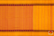 Load image into Gallery viewer, body, border and pallu details of kanchipuram silk saree