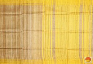 body, border and pallu detail in Tussar silk saree