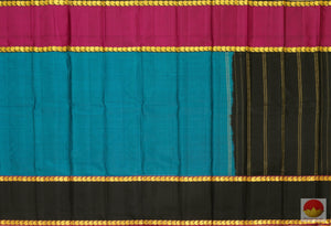 Lite Weight Handwoven Kanchipuram Pure Silk Saree - PVASB 07 Archives