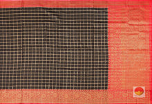 Handwoven Banarasi Silk Saree - Matka Silk - PM 32 Archives