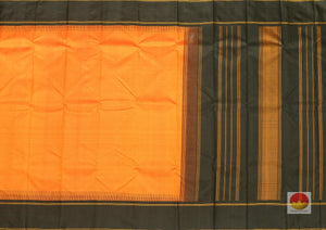 body and pallu of kanjivaram pure silk saree
