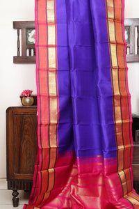 Traditional Design Handwoven Pure Silk Saree - Pure Zari - PV 203