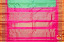Temple Border Handwoven Pure Silk Kanjivaram Saree - PV S9 Archives