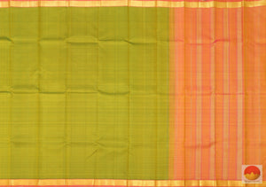 Kanchipuram Silk Saree - Handwoven Pure Silk - Pure Zari - PV RA 4