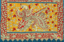 PALLU OF Kalamkari Silk Saree