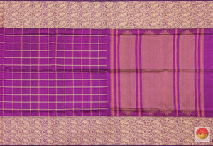 body, border and pallu detail in silk cotton saree