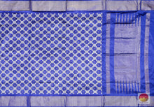 Load image into Gallery viewer, body, border and pallu detail of pochampally silk saree