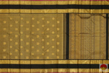 body and pallu of kanchipuram silk saree