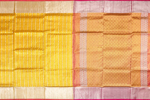 Tissue Silk Handwoven Pure Silk Kanjivaram Saree - Pure Zari - PA 144 Archives
