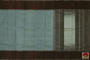 Kanchipuram Silk Saree - Handwoven Pure Silk - Pure Zari - PV KG 2857 Archives