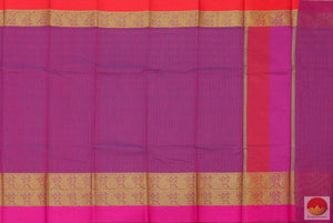 body, border and pallu details of banarasi silk cotton saree