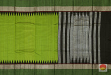 body, border and pallu of kanjivaram jute silk saree
