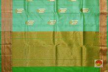 Handwoven Banarasi Tussar Silk Saree - PBT 35 Archives