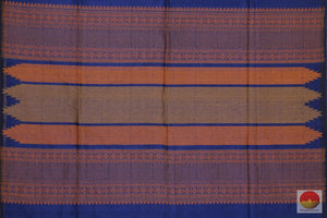 pallu of kanchi silk cotton saree