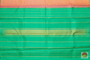 Borderless - Handwoven Pure Silk Kanjivaram Saree - Pure Zari - PV G 1924